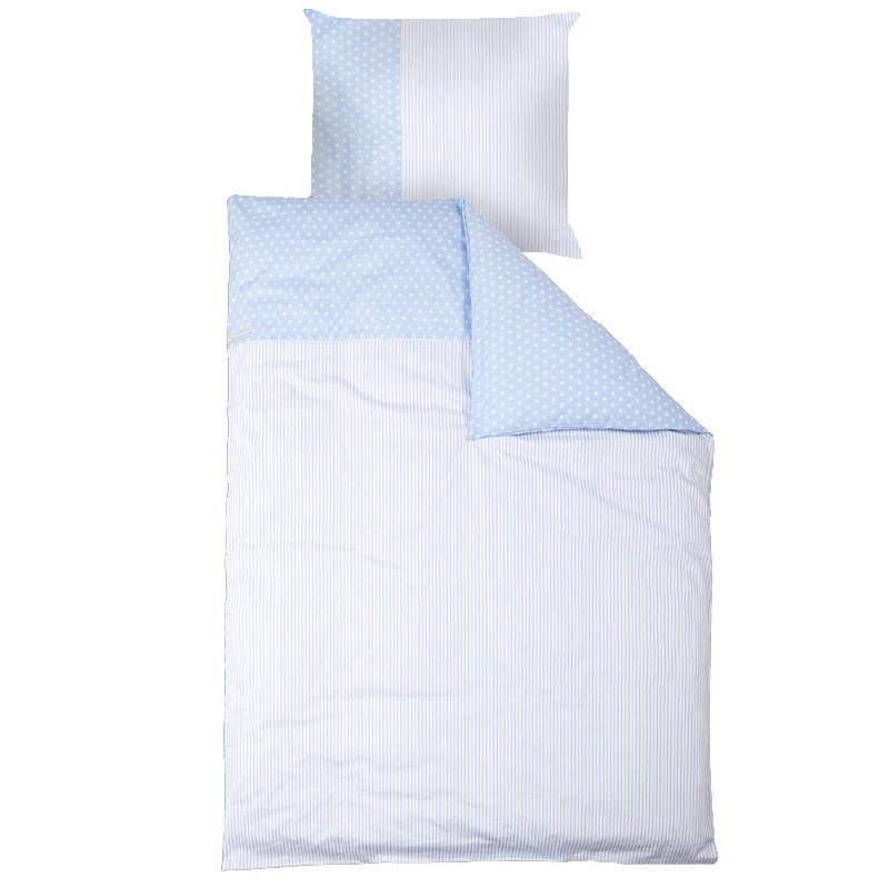 little dutch jugendbettw sche hellblau mit wei en sternen bettw sche jungen jugendzimmer. Black Bedroom Furniture Sets. Home Design Ideas