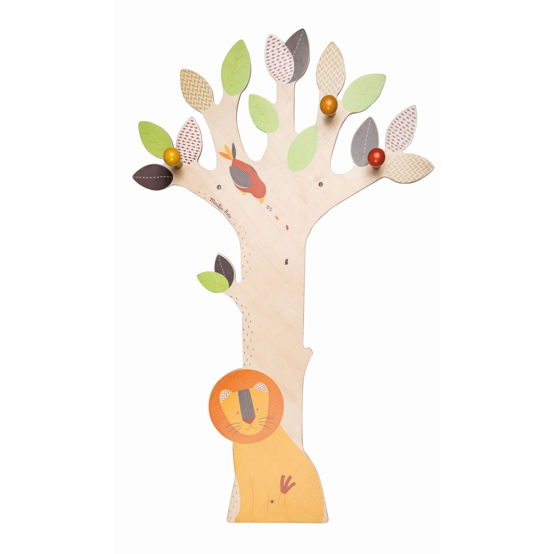 Moulin Roty Garderobe Baum Les Papoum Garderoben Kinderzimmer
