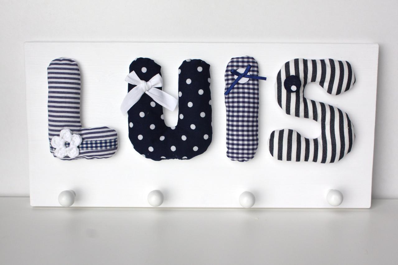 Reuberkind Garderobe mit Namen Jungen | Garderoben | KINDERZIMMER ...