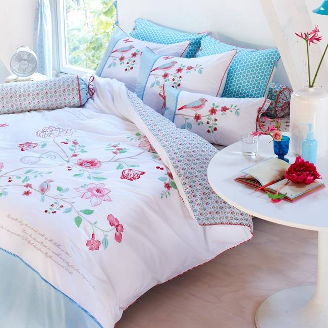 pip bettw sche embroider tree white 155x220 pip studio bettw sche pip studio jugendzimmer. Black Bedroom Furniture Sets. Home Design Ideas