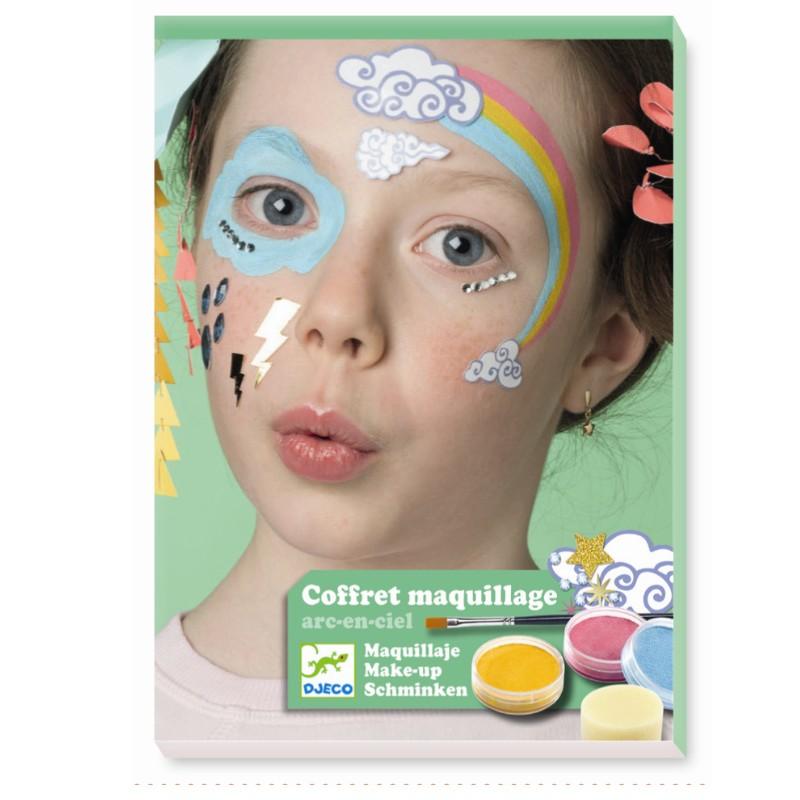 Djeco Kinderschminken Rainbow 3 Kinderschminken Djeco